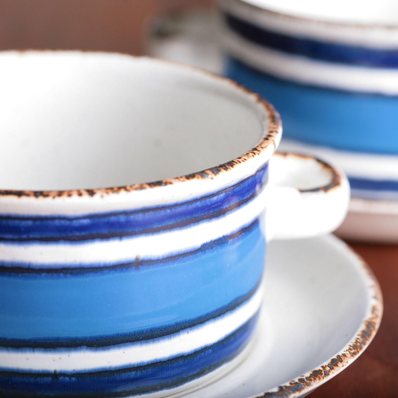 Midwinter ミッドウインター ストーンヘンジ ムーン スープカップ&ソーサー イギリス ヴィンテージ