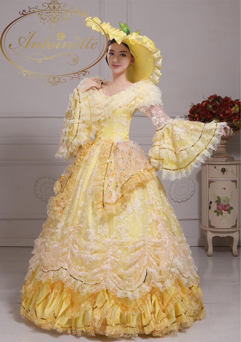 ステージ用 フリル袖 貴族 中世貴族 コスプレ フランス人形 ハロウィン ドレス マリーアントワネット 宝塚 舞台衣装 ベルバラ キレイ