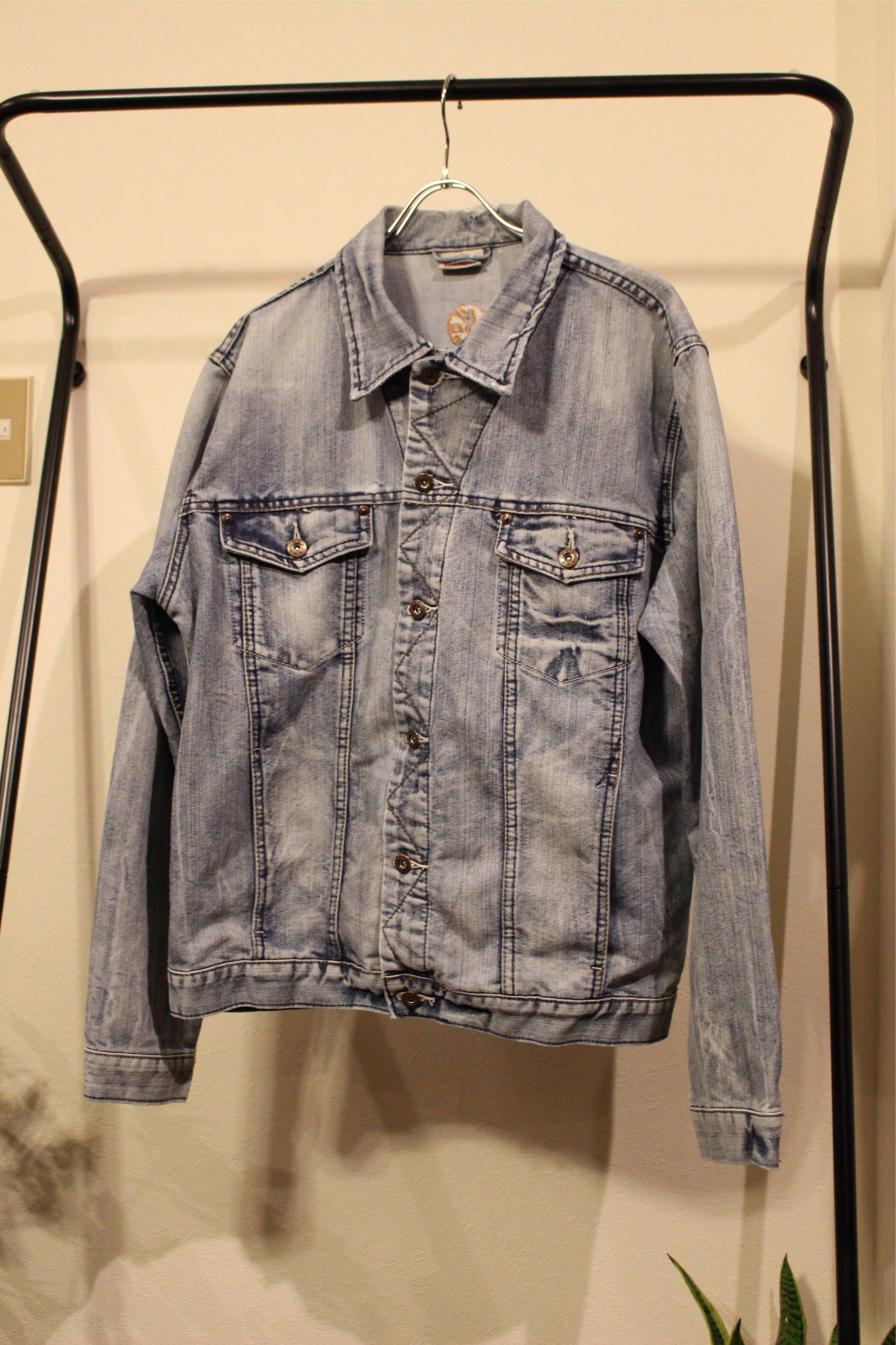 chemical denim jacket