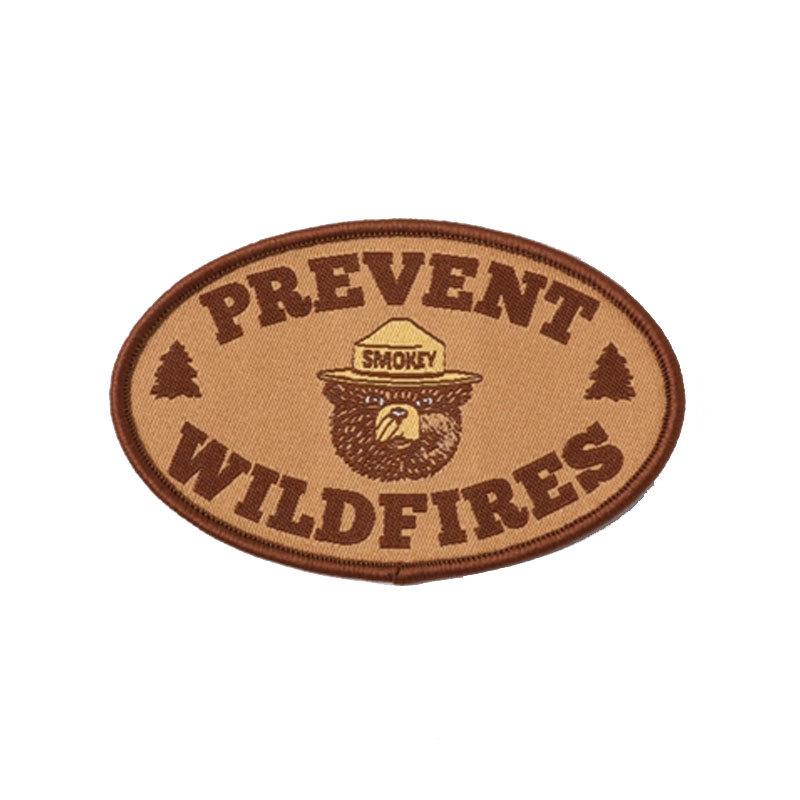 スモーキーベア PREVENT WILDFIRES パッチ