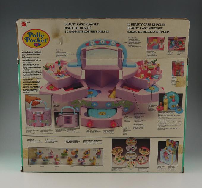 ポーリーポケット BEAUTY CASE PLAYSET 1991年 新品未開封 レア!