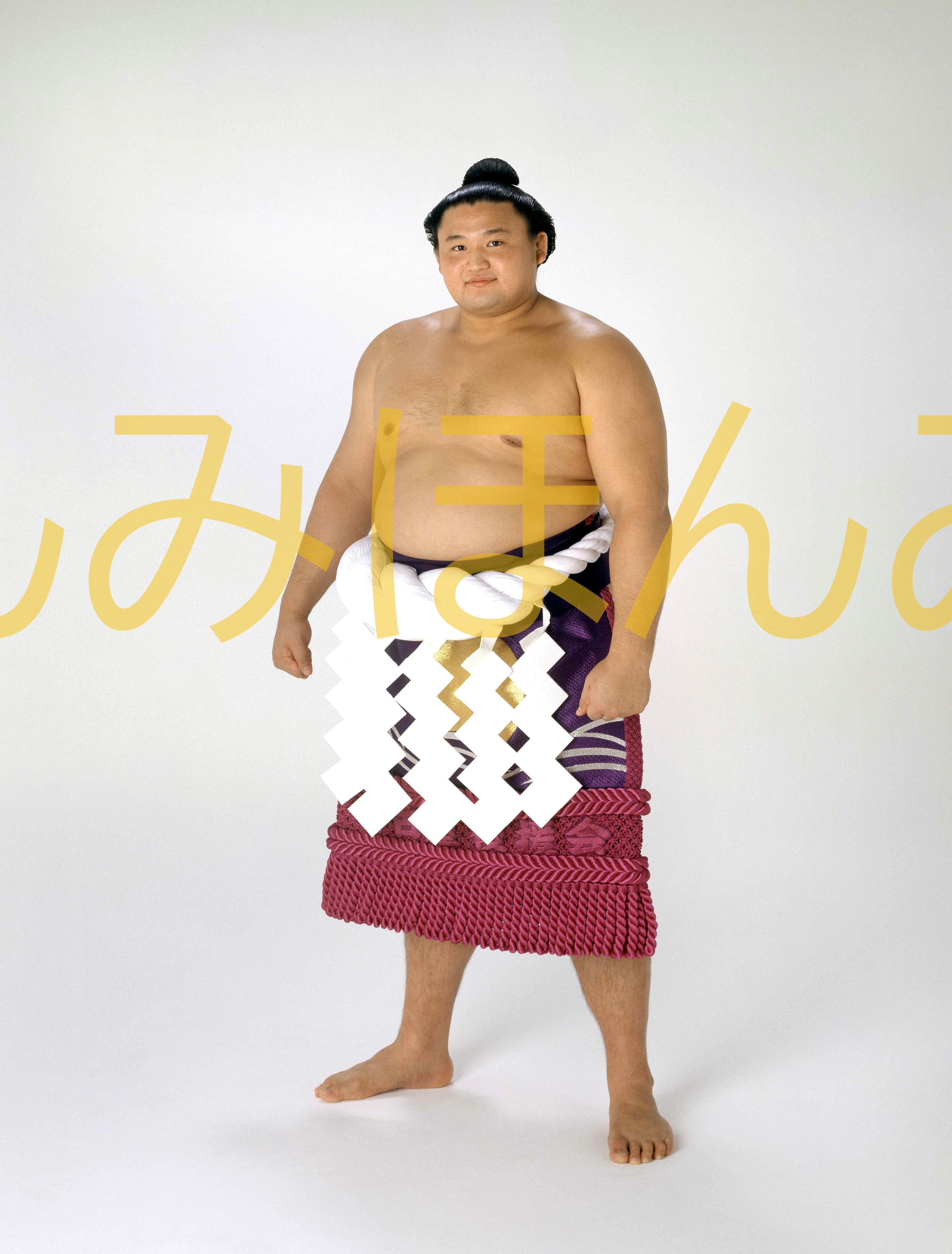 平成7年7月場所優勝 横綱 貴乃花光司関(10回目の優勝)