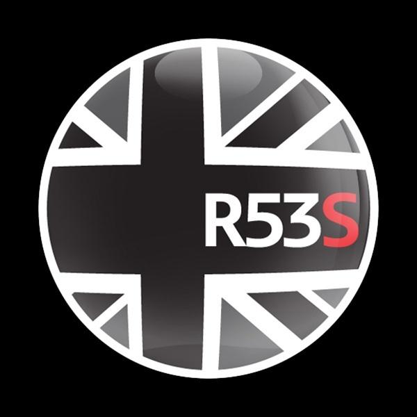 ゴーバッジ(ドーム)(CD0154 - FLAG BLACKJACK R53S) - 画像1