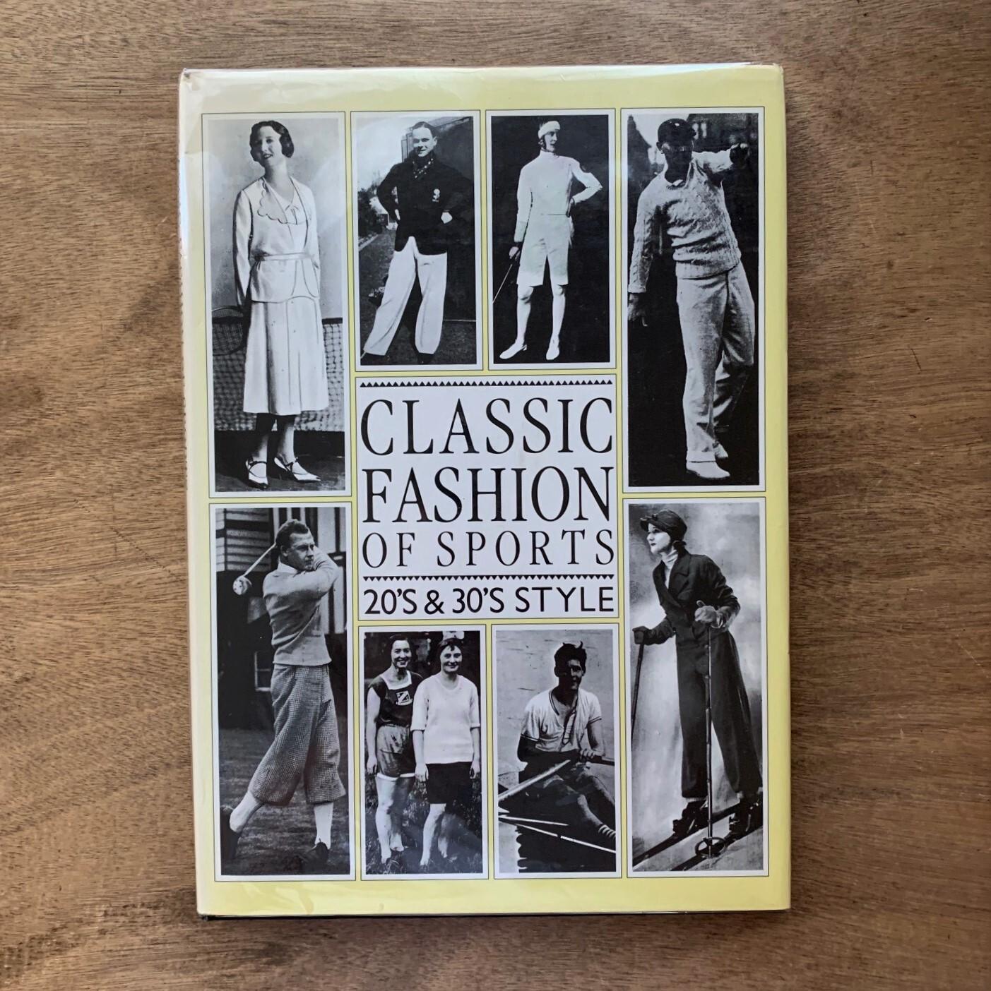 クラシック・ファッション・オブ・スポーツ / ピエブックス 1988