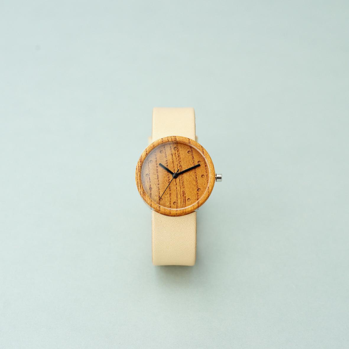 Zelkova wood - Natural - M