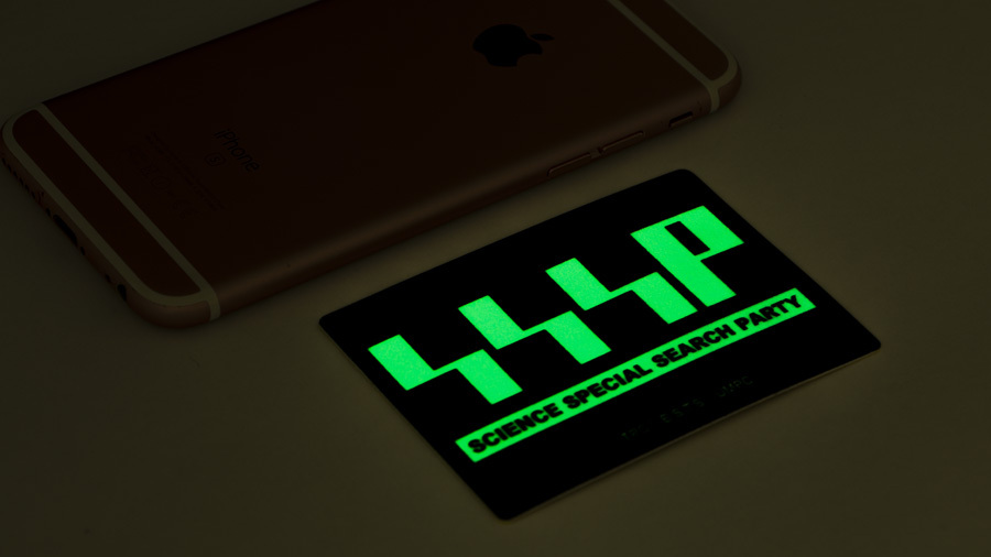 ULTRAMAN  高発光ステッカー SSSP / グルーヴガレージ