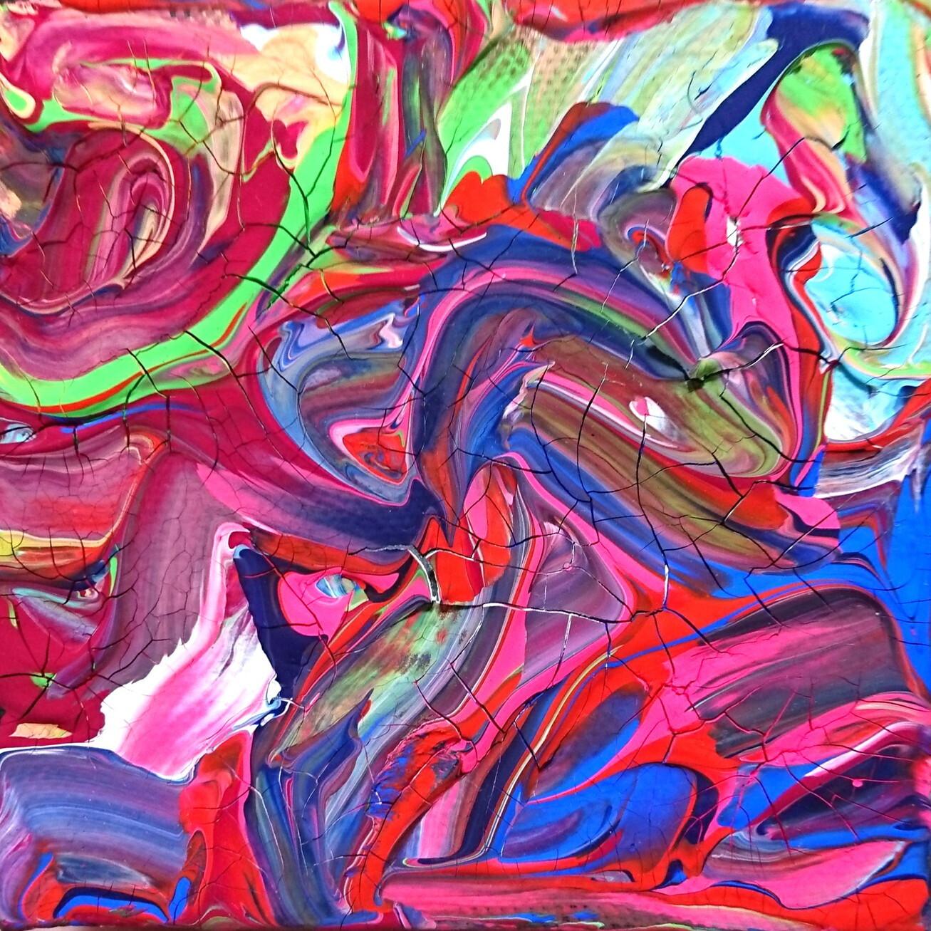 絵画 絵 ピクチャー 縁起画 モダン シェアハウス アートパネル アート art 14cm×14cm 一人暮らし 送料無料 インテリア 雑貨 壁掛け 置物 おしゃれ 現代アート 抽象画 : ごま 作品 : s01