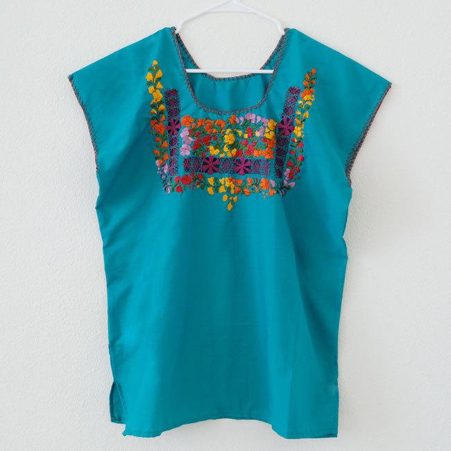オアハカ刺繍ブラウス / M,Lsize /212_c/ MEXICO メキシコ