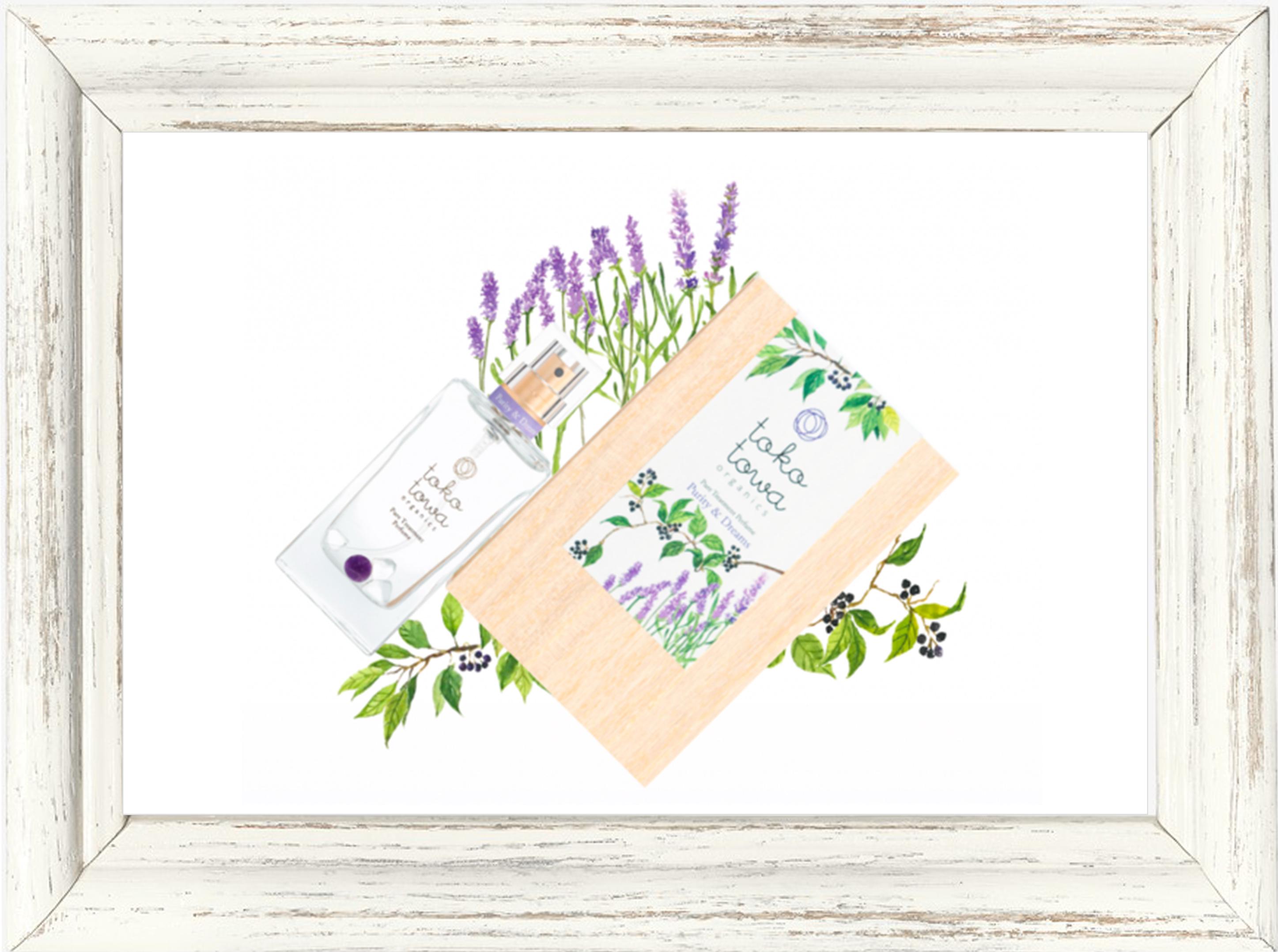 パフューム▶︎tokotowa organics ピュリティ&ドリームズ (バイオレット) 香水 25ml