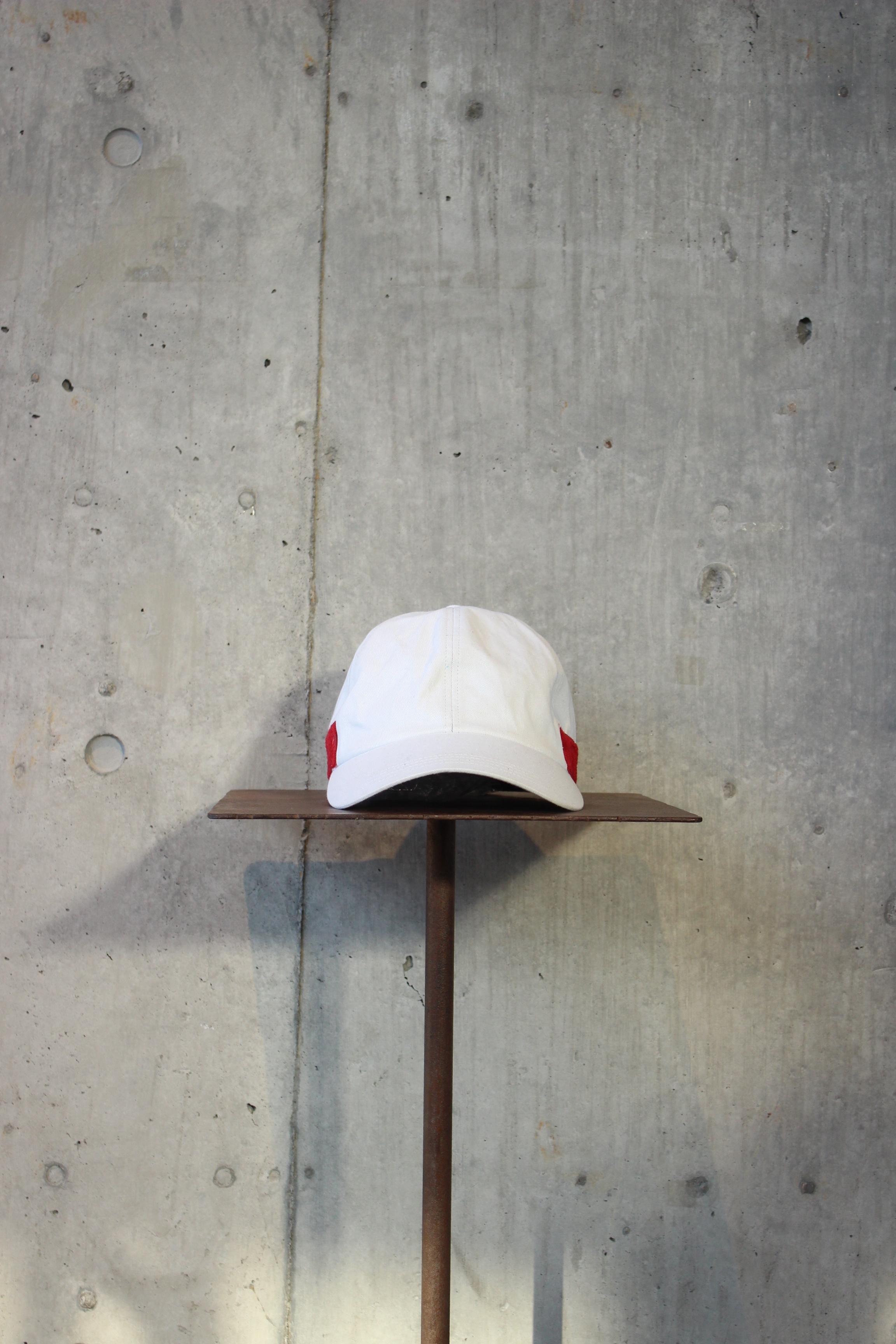 【50%OFF】magic tape cap / WHITE - 画像1