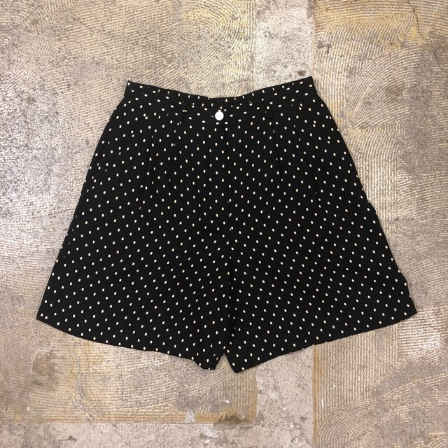 Liz Claiborne Dot Short Pants ¥4,200+tax