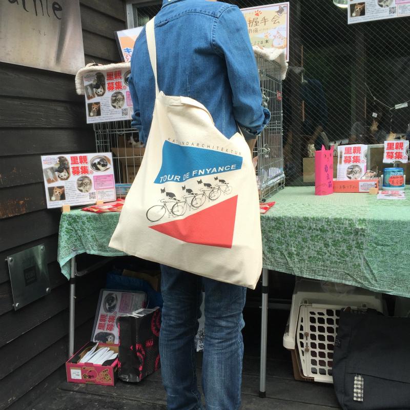 千葉ちゃん-TOUR DE FNYANCE- トートバッグ