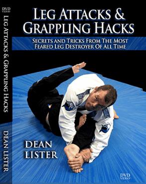 レッグアタックス&グラップリングハックス ディーン・リスター DVD4枚セット|ブラジリアン柔術教則DVD