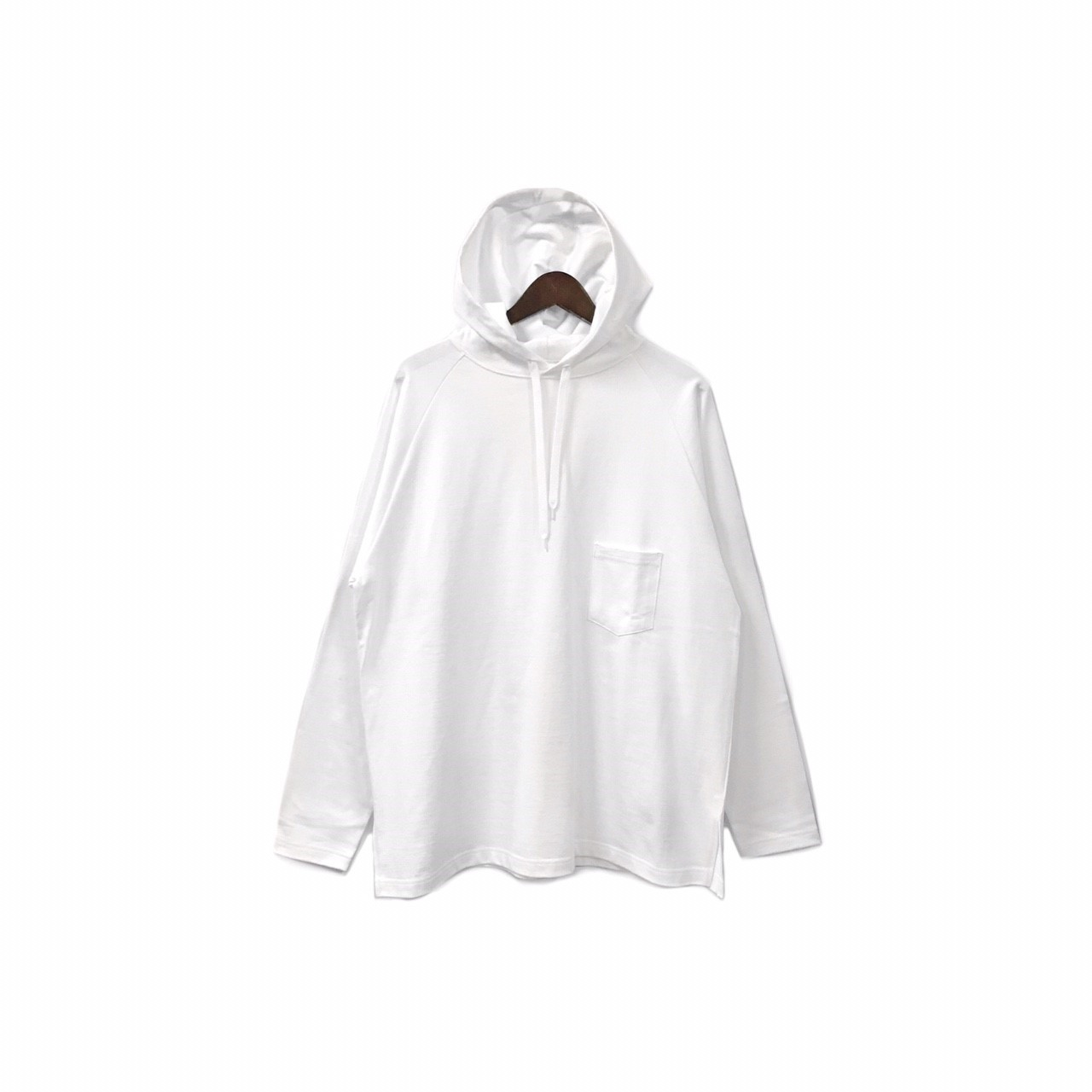yotsuba - Hooded Cut&Sew / White ¥12000+tax