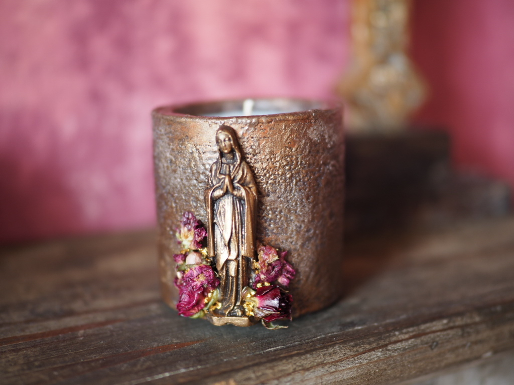 Vintage Maria Candle 3