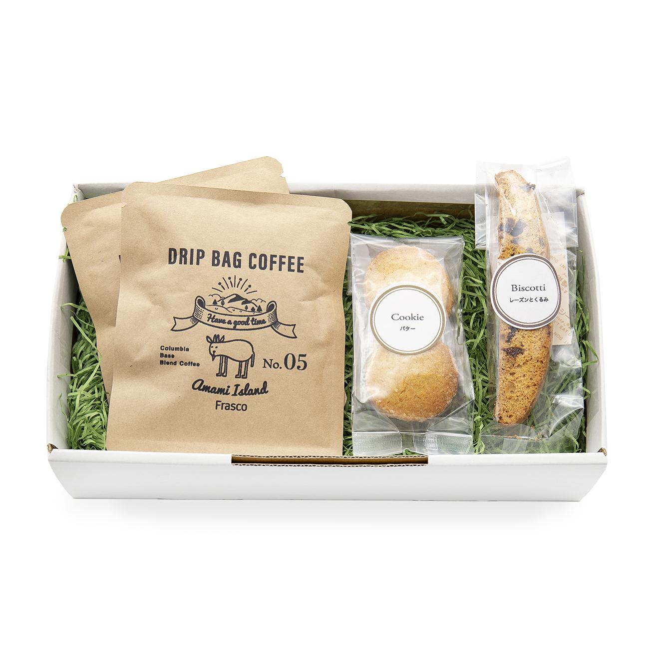 珈琲と焼菓子のセット gift-B