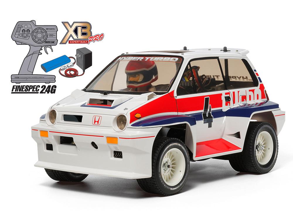 タミヤ 1/10RC XB Honda シティターボ (WR-02Cシャーシ)