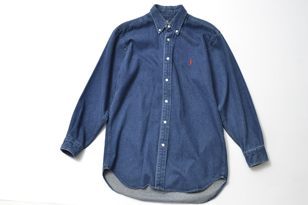 POLO Ralph Lauren heavy denim shirts