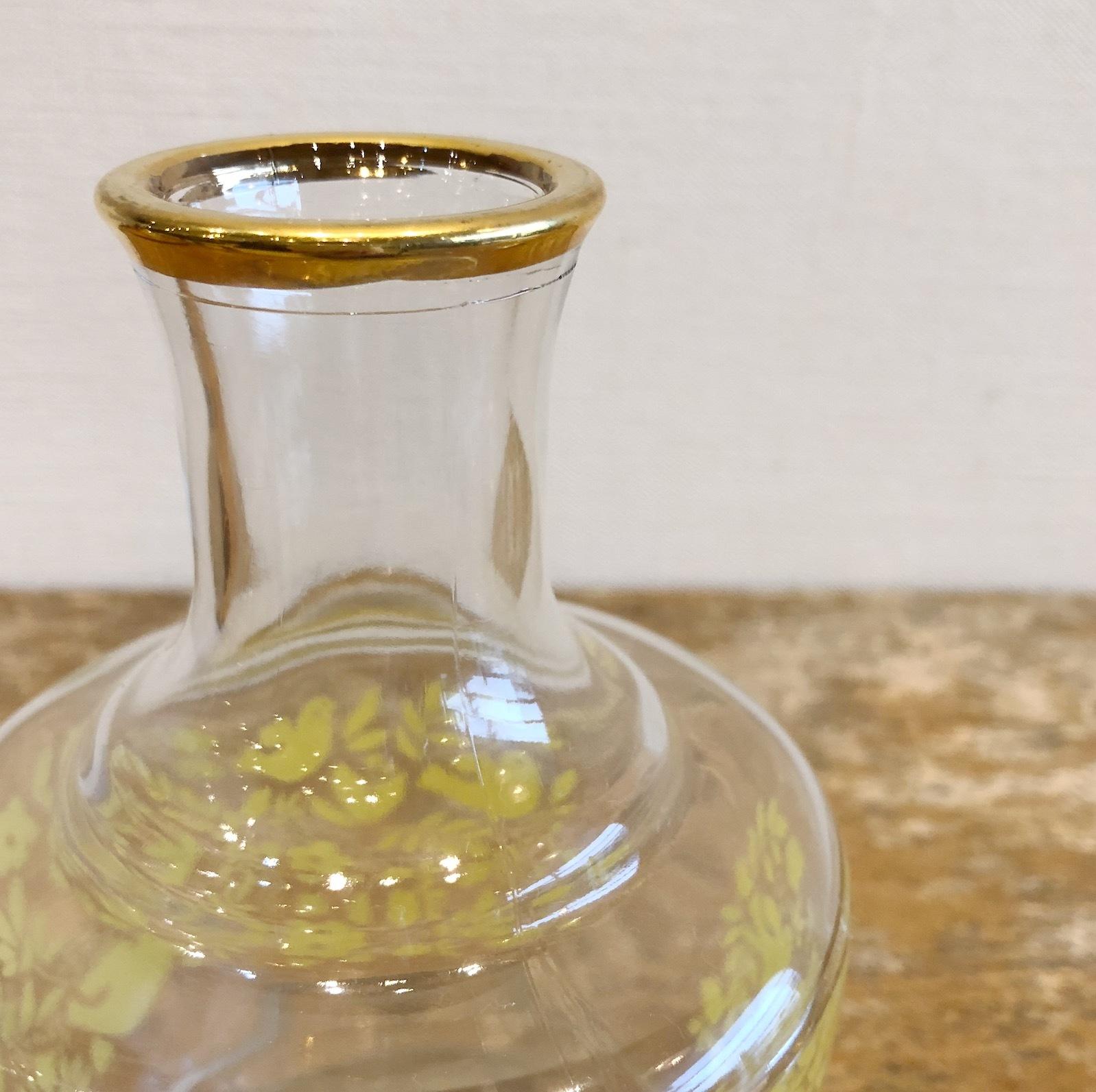 アデリア 小鳥柄冠水瓶