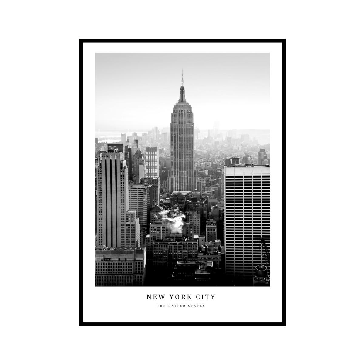 """NEW YORK CITY"" US - POSTER [SD-000591] A3サイズ フレームセット"