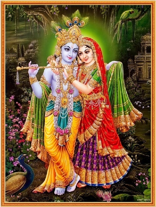 インドの神様 クリシュナ&ラー...