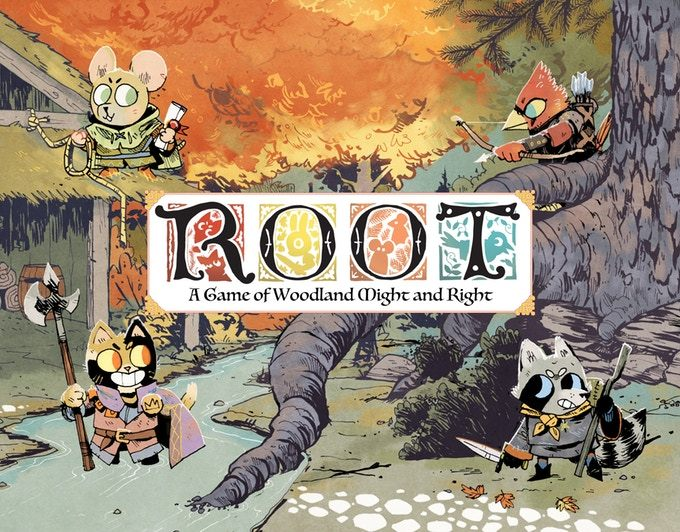 「Root: A Game of Woodland Might and Right: 」(日本語説明書・シール付属)