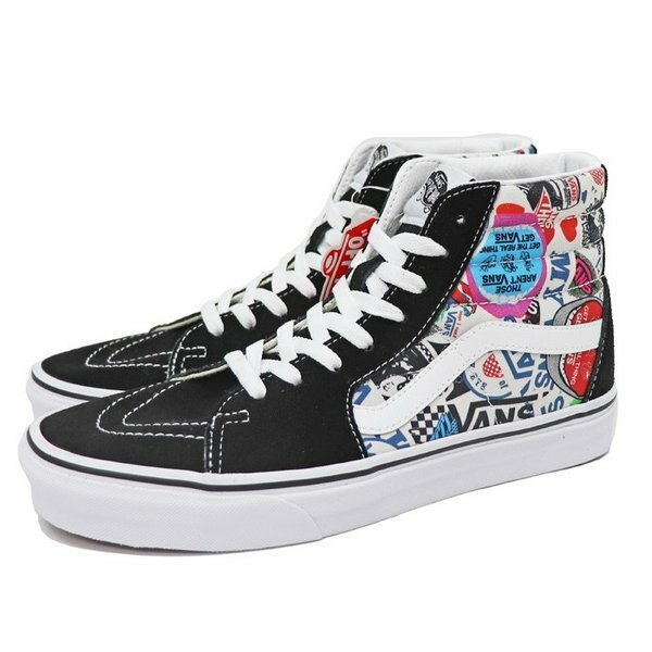 VANS バンズ  SK8-HI (Vans Mush Up) Stickers/True White