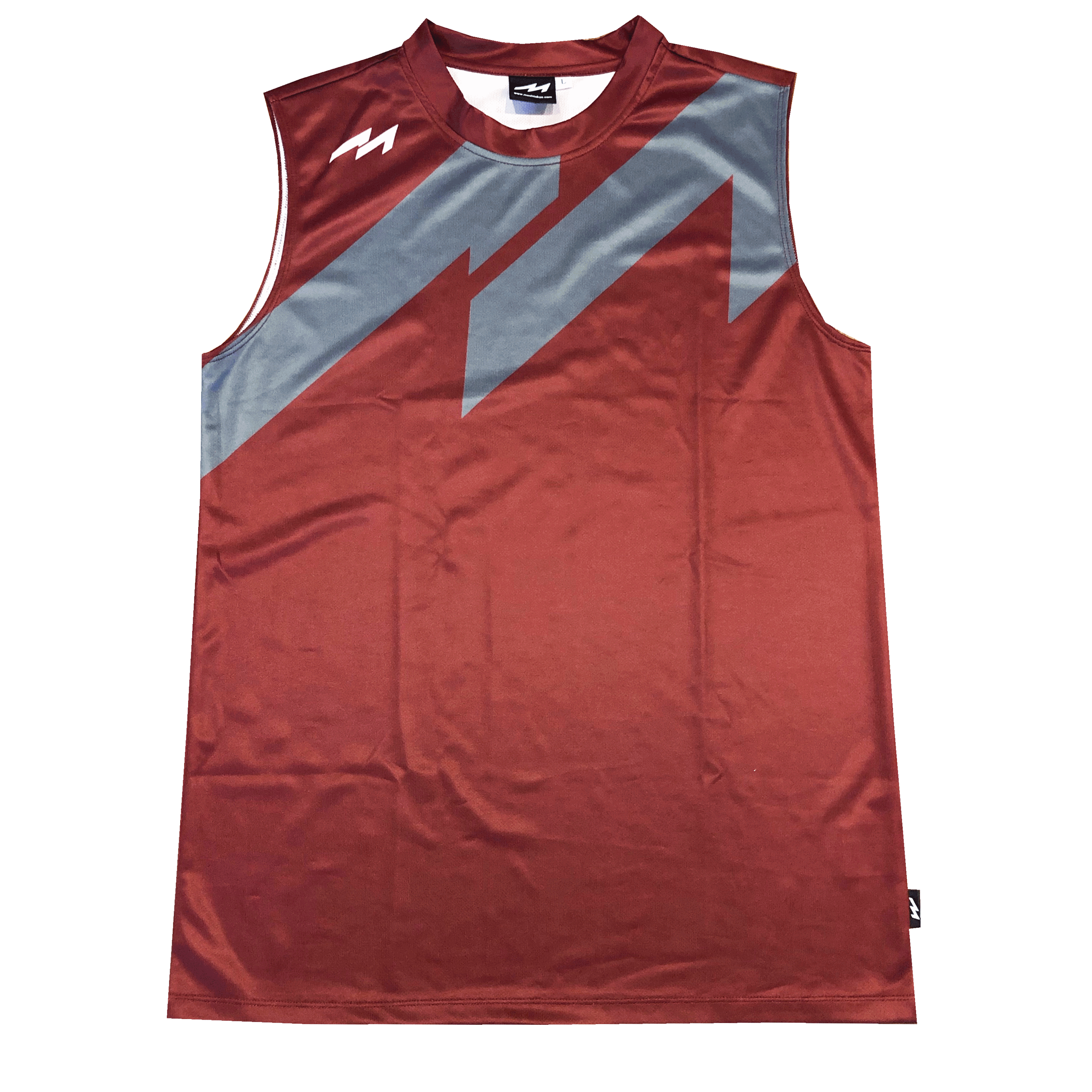Big M Logo S/L Shirts (MHNS-2014 BUR)