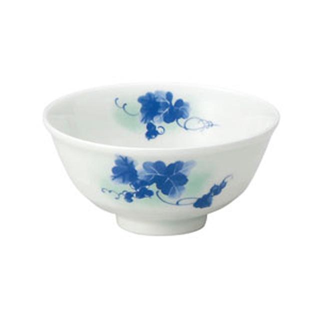 【2075-4210】ろくべい茶碗 大(口径12.2cm) みのり
