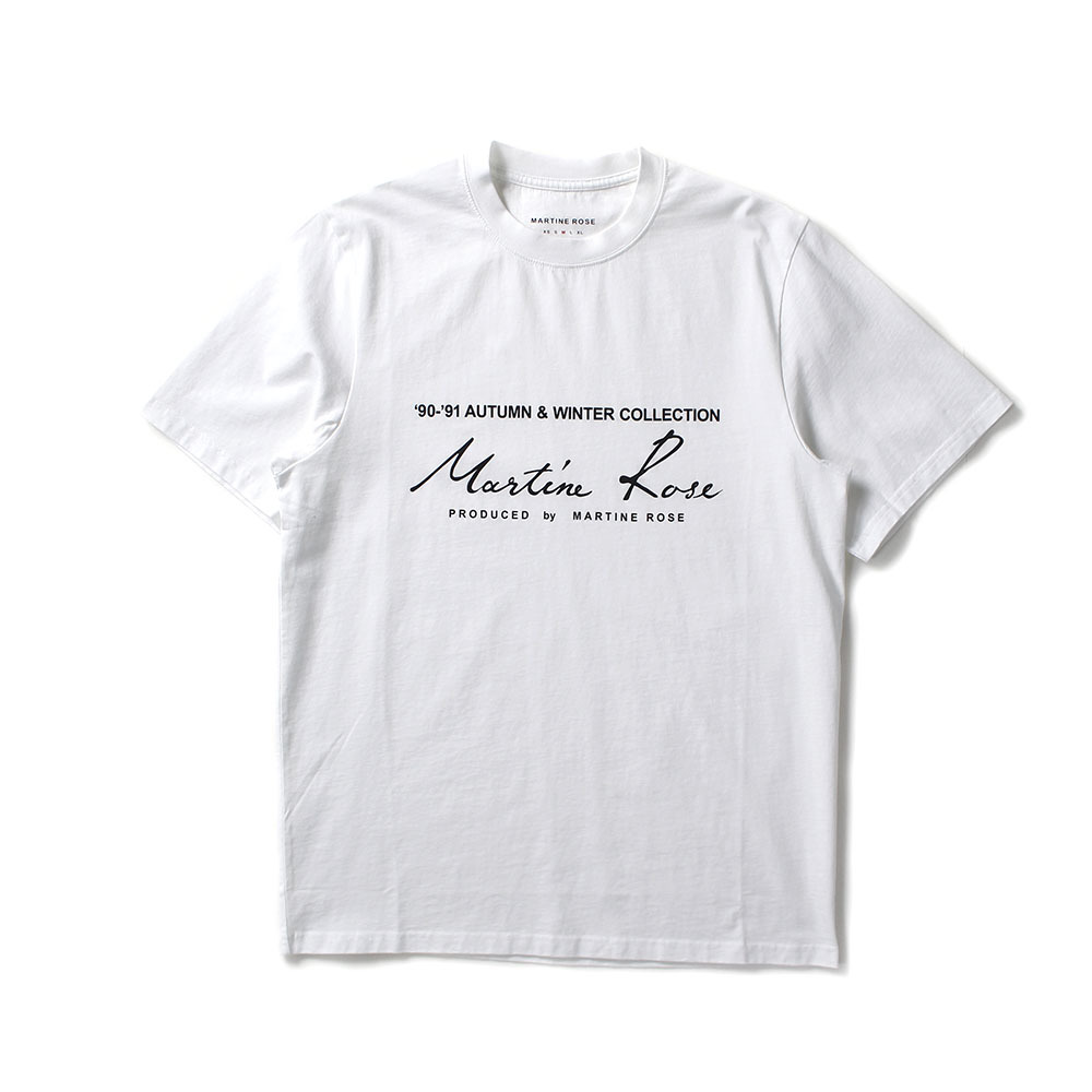 MARTINE ROSE Logo Tee