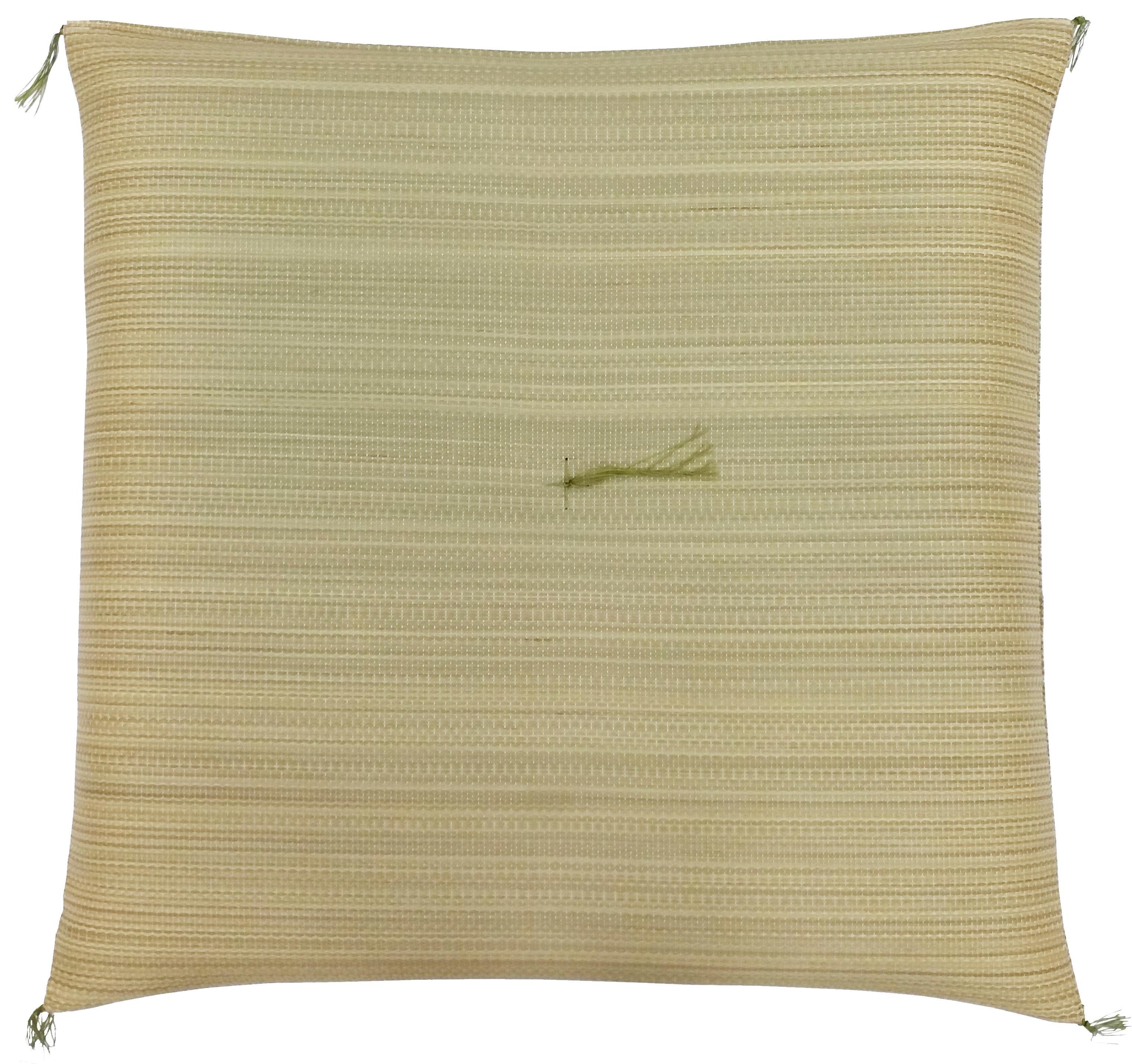 【純国産 い草座布団】ナチュラル Japanese Rush Grass Cushion : NATURAL