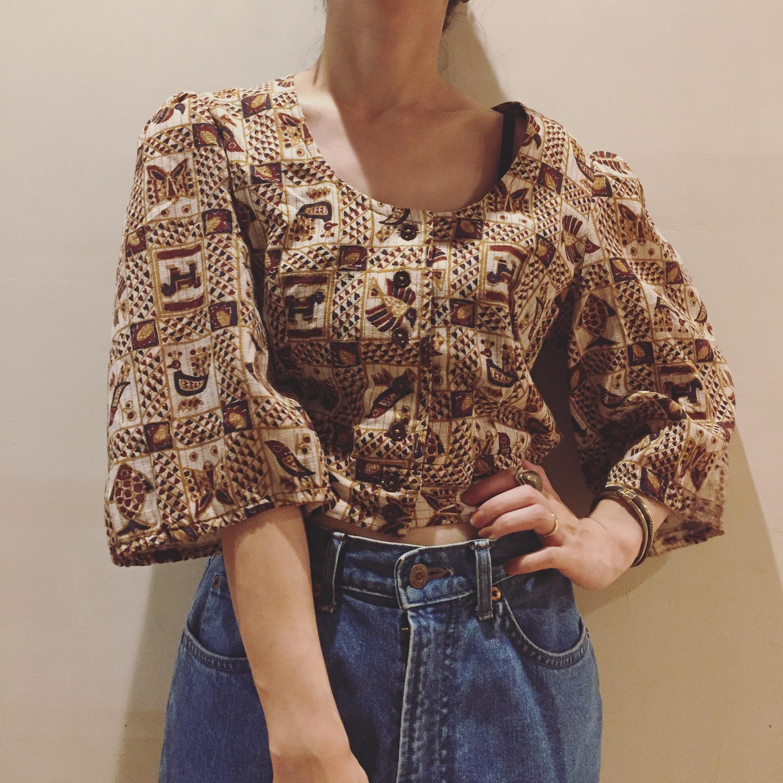 vintage short design tops
