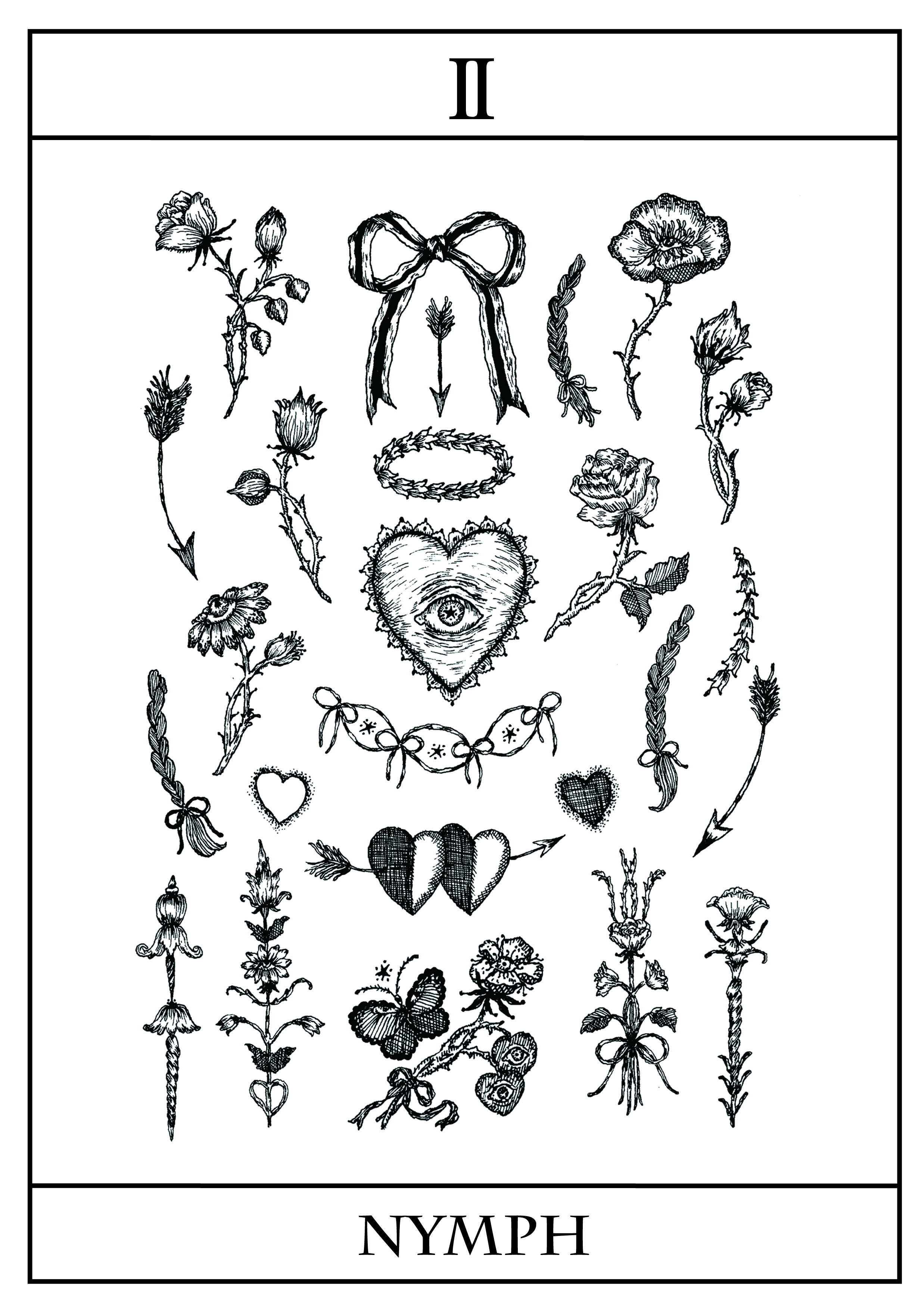tatto sticker〈Ⅱ〉