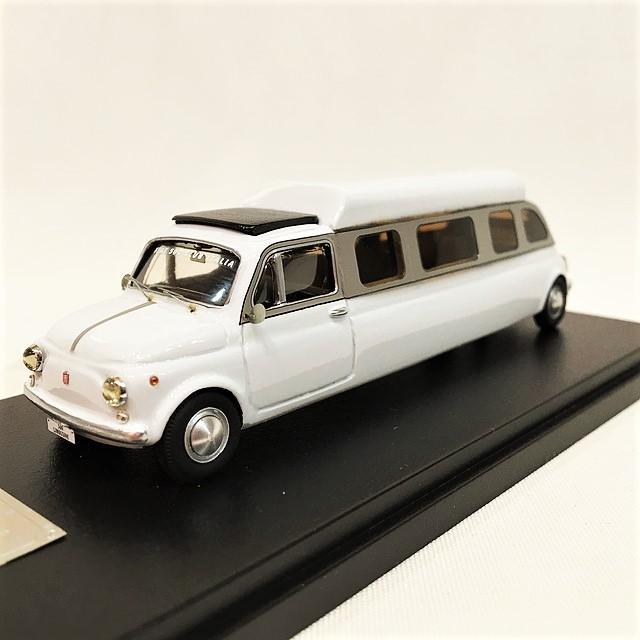 "Fiat 500 Limousine"" Fiat 500 Club Italia 1/43【MG Model】【1個のみ】【税込価格】"