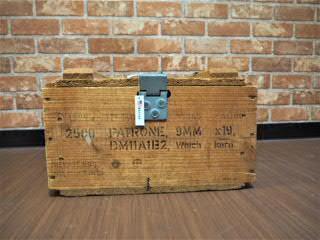 品番0018 弾薬用 木箱 A