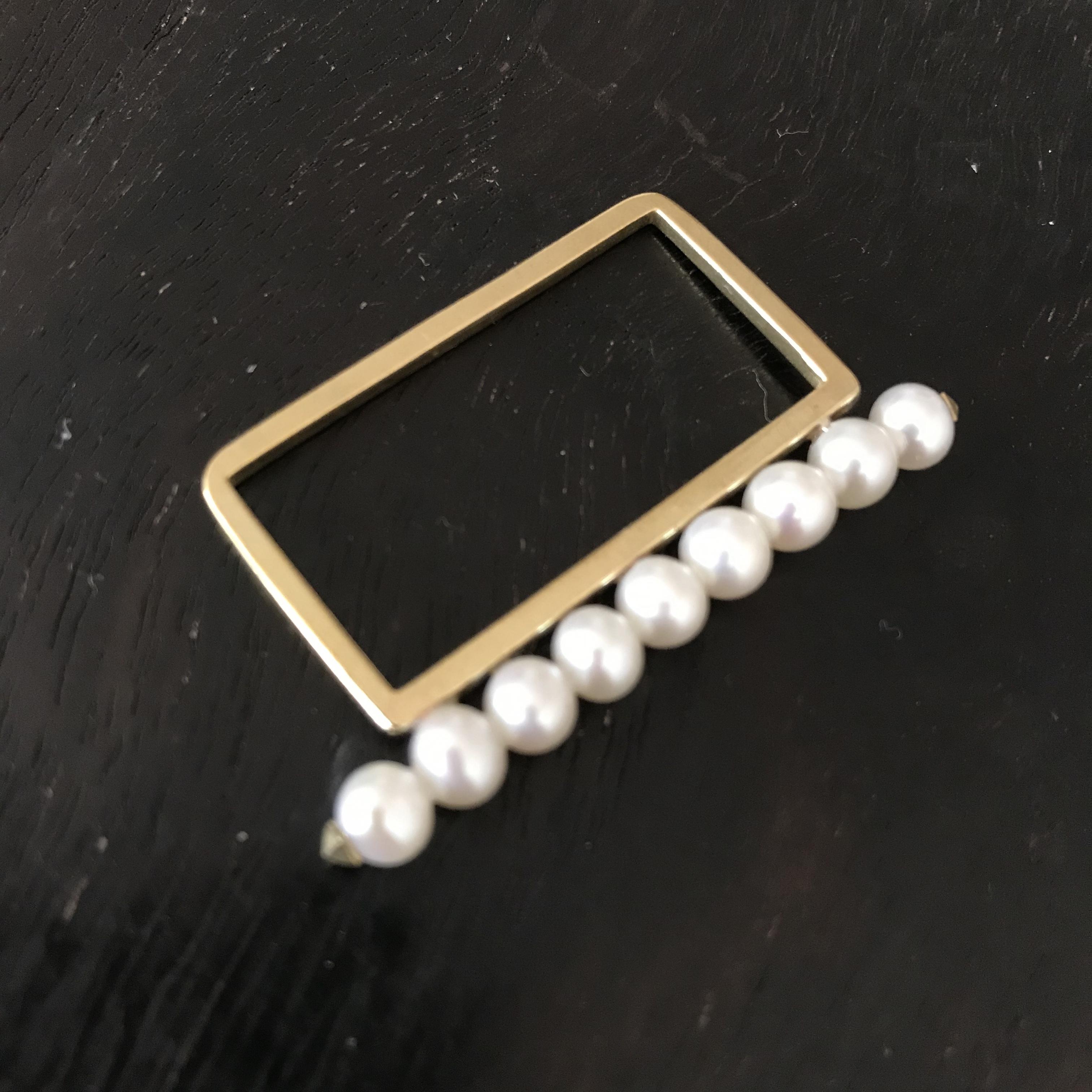 pearl ring  8(2finger用)PeR-8