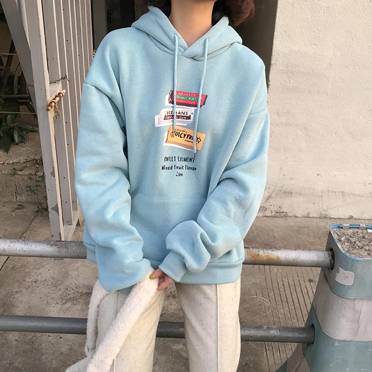 〈カフェシリーズ〉キャンディカラーカフェパーカー【candy color cafe parker】