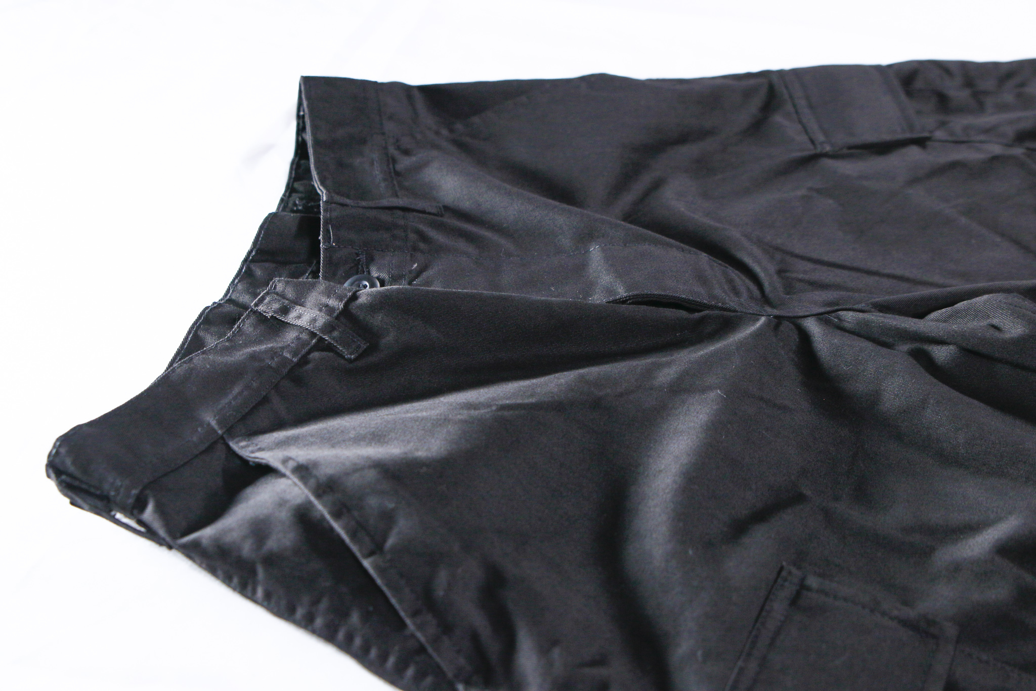 KB 6-POCKET CARGO PANTS [BLACK]
