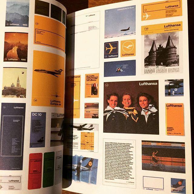 デザインの本「Lufthansa and Graphic Design」 - 画像3