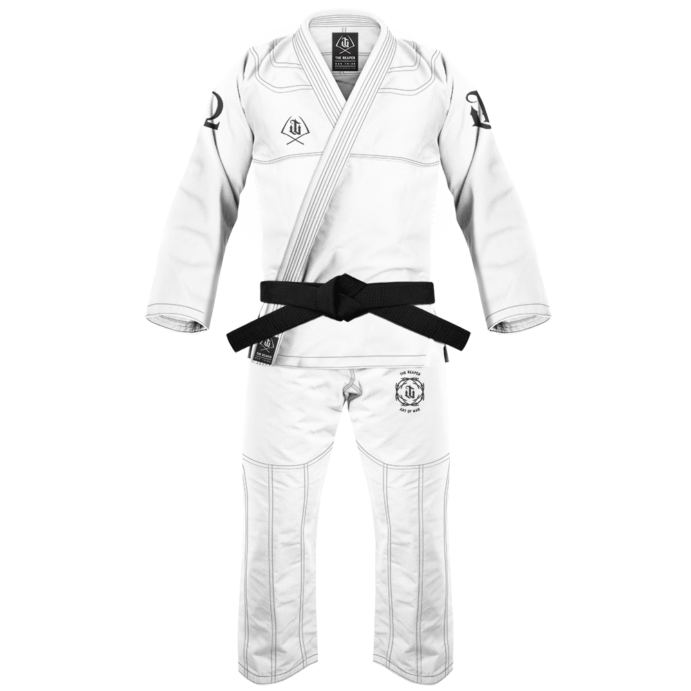 WAR TRIBE GEAR  REAPER GI  ホワイト|ブラジリアン柔術衣(柔術着)