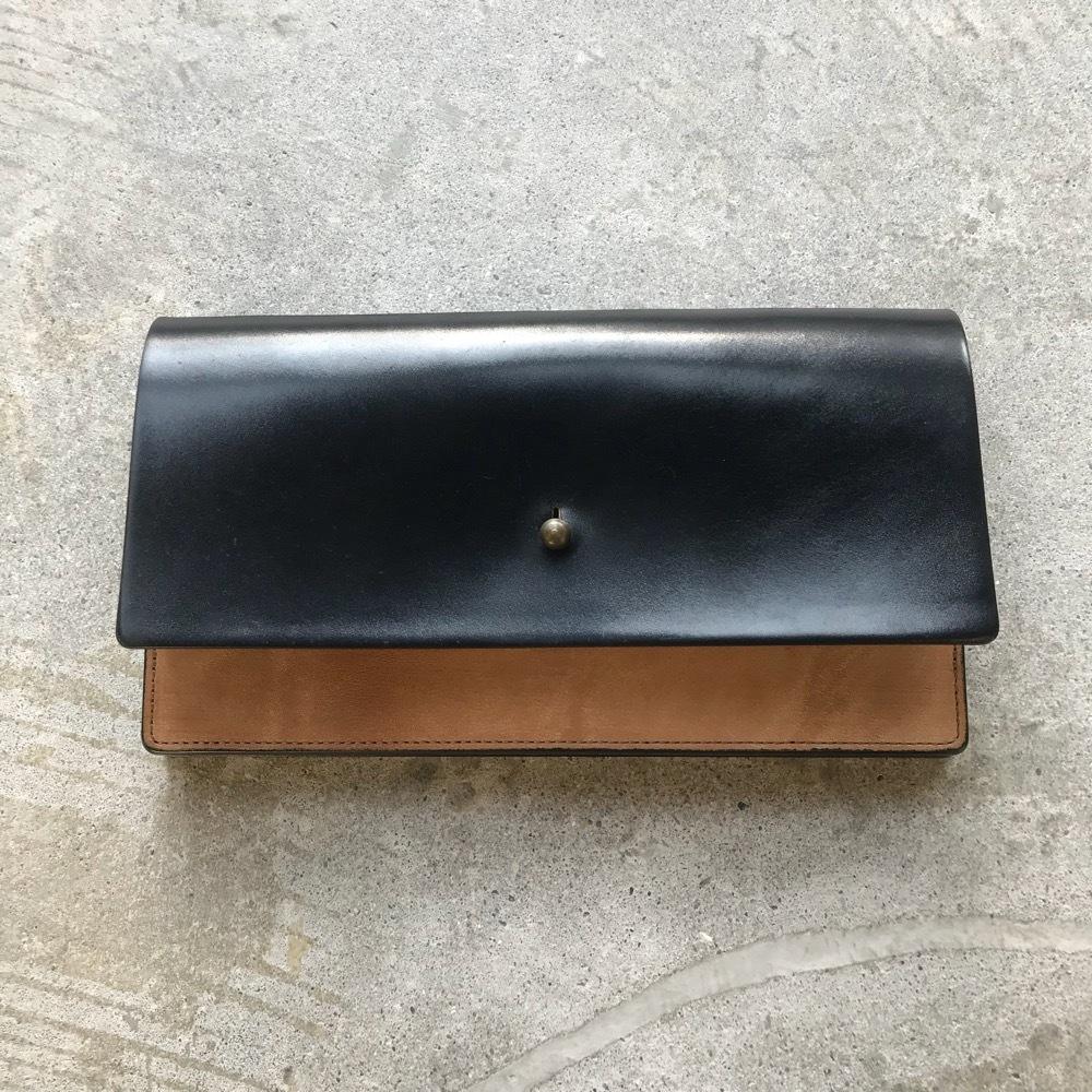 forme long wallet black