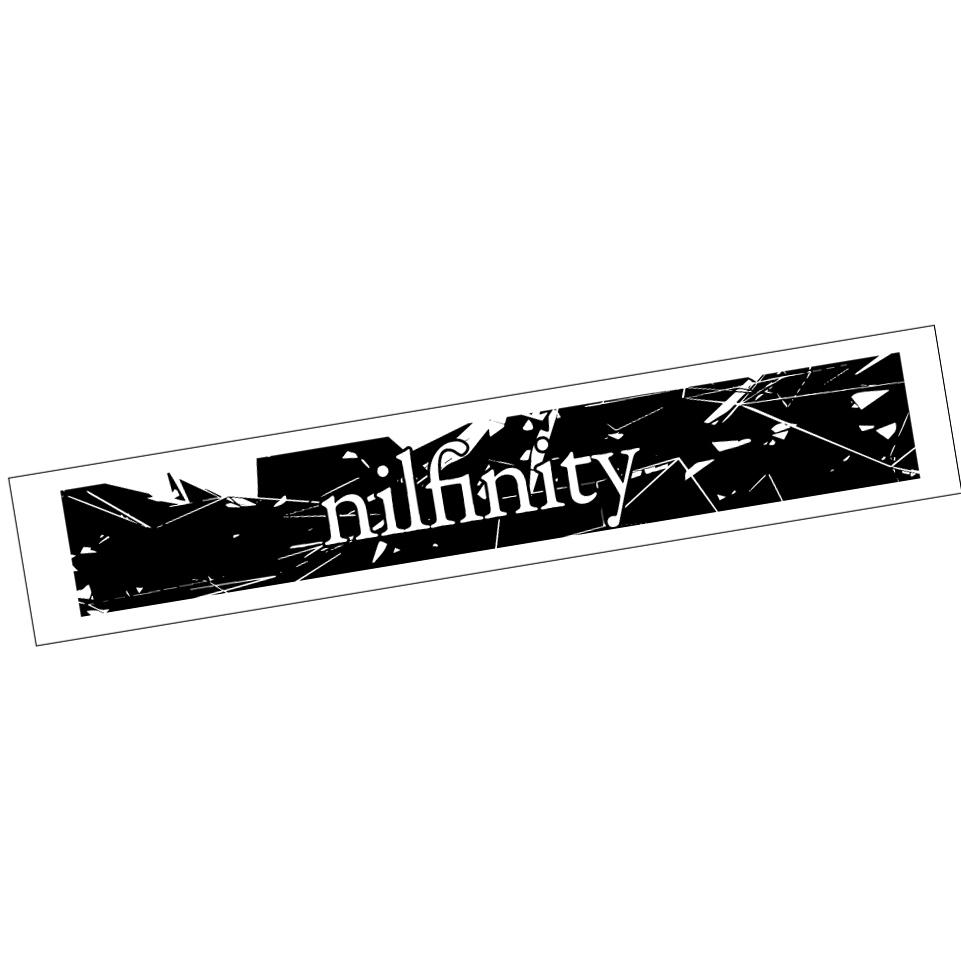 "nilnfinity / マフラータオル""nilfinity"""