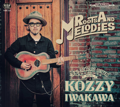 """KOZZY IWAKAWA """"ROOTS AND MELODIES"""" CD.   RVCD-029"""