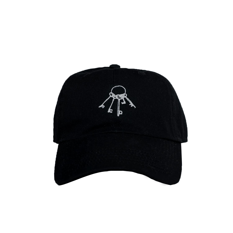WWWTYO x RepMCD 5th ANNIVERSARY / KEY TO MCD BALL CAP (BLACK)