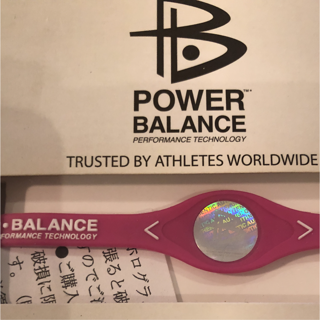 (パワーバランス) POWER BALANCE シリコン・ブレスレット