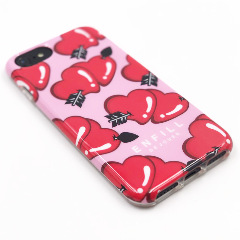 """TPU CASE """"LOVE EACH OTHER"""" for iPhone8/7/6s/6"""