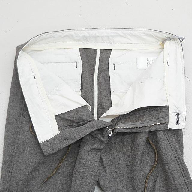 ORDINARY FITS オーディナリーフィッツ EASY PANTS WOOL ウールイージーパンツ (品番of-p037)