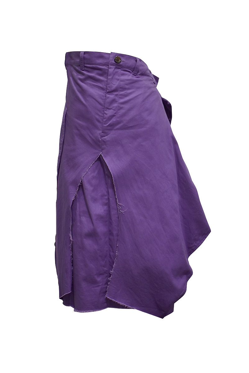 RIDDLEMMA / Color skirt / Grape
