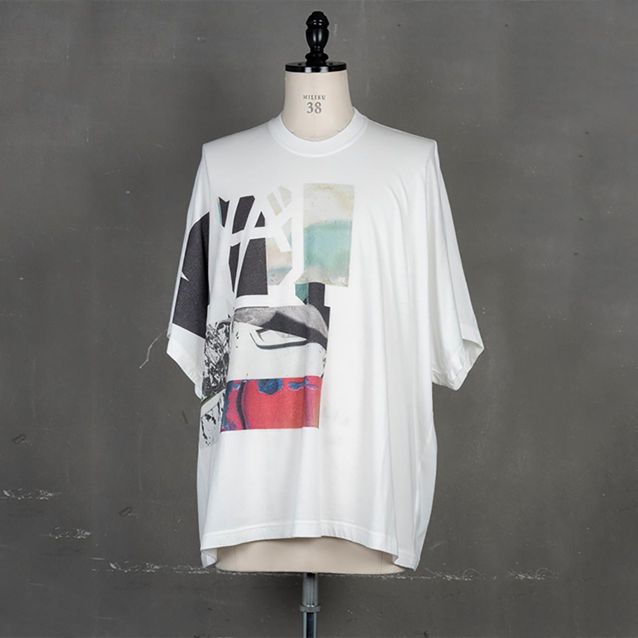 [ 2021 春夏 予約商品 ] 740CPM7-WHITE / NILøS プリント Tシャツ ver.5 / 1月入荷予定