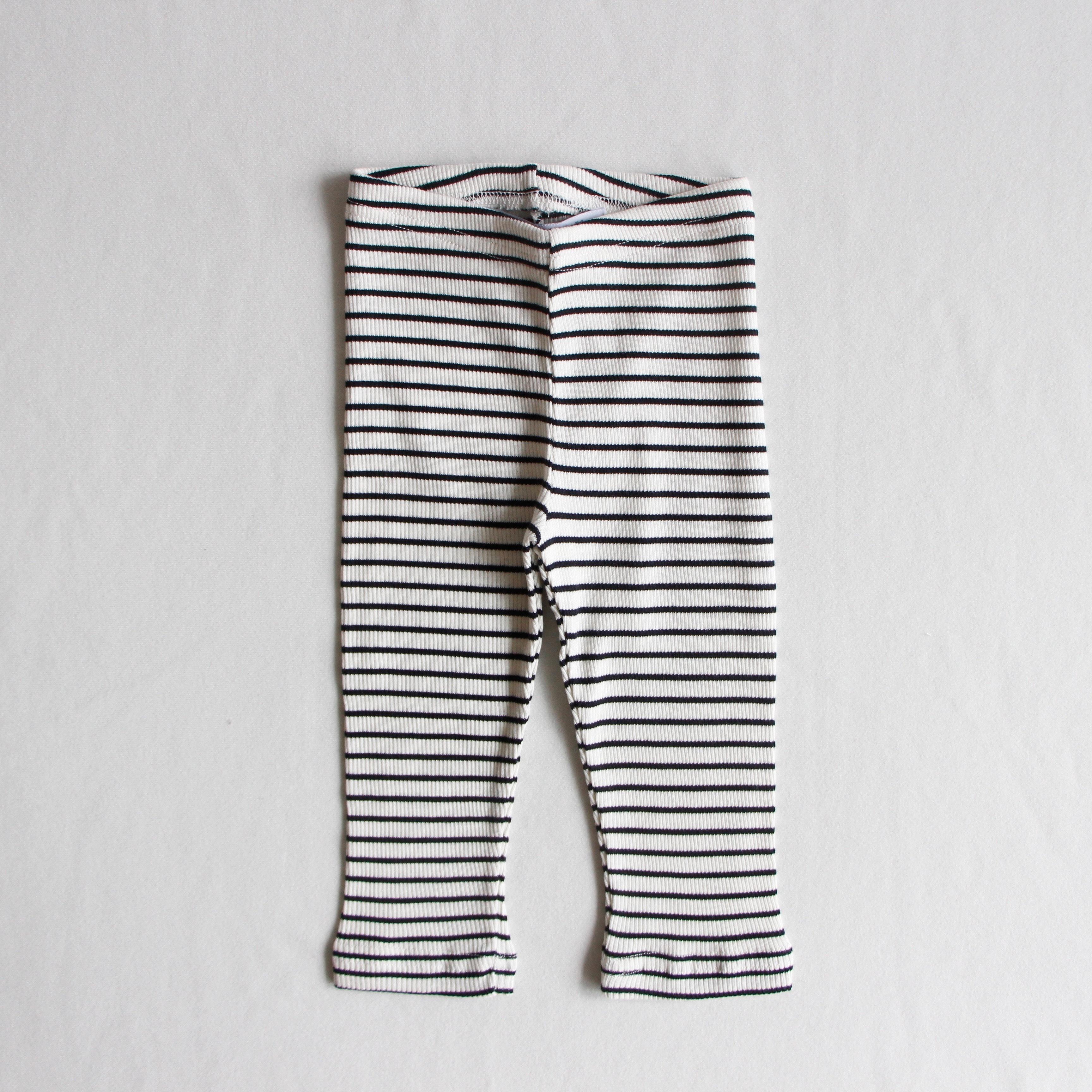 《MINGO. 2020AW》Legging(rib) / Stripes